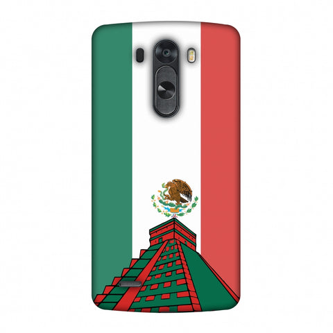 Chichen Itza - Mexico Flag Slim Hard Shell Case For LG G4