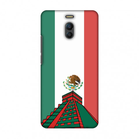 Chichen Itza - Mexico Flag Slim Hard Shell Case For Meizu Note 6