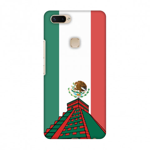 Chichen Itza - Mexico Flag Slim Hard Shell Case For Vivo X20 Plus