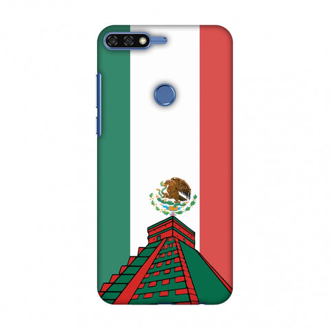 Chichen Itza - Mexico Flag Slim Hard Shell Case For Huawei Honor 7C