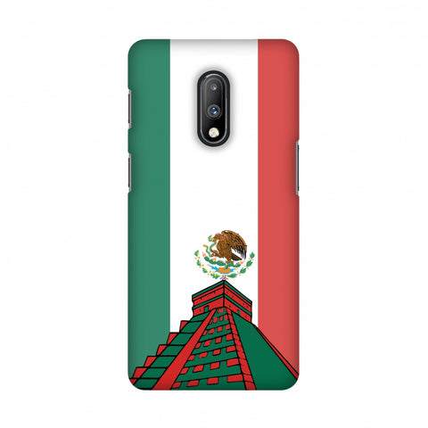 Chichen Itza- Mexico flag Slim Hard Shell Case For OnePlus 7