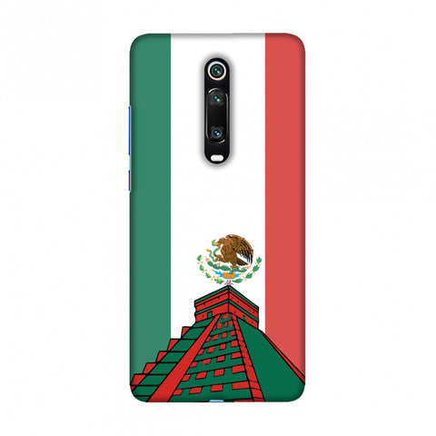Chichen Itza- Mexico flag Slim Hard Shell Case For Redmi K20/K20 Pro