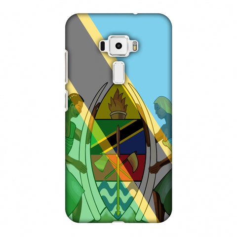 Coat Of Arms - Tanzania Flag Slim Hard Shell Case For Asus Zenfone 3 ZE520KL