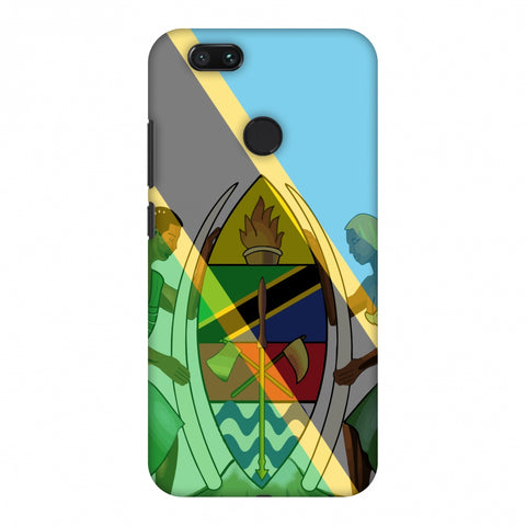 Coat Of Arms - Tanzania Flag Slim Hard Shell Case For Xiaomi MI A1-5X