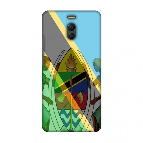 Coat Of Arms - Tanzania Flag Slim Hard Shell Case For Meizu Note 6