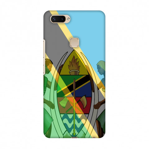 Coat Of Arms - Tanzania Flag Slim Hard Shell Case For Vivo X20 Plus