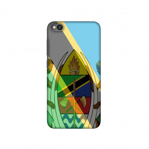 Coat of arms- Tanzania flag Slim Hard Shell Case For Redmi Go