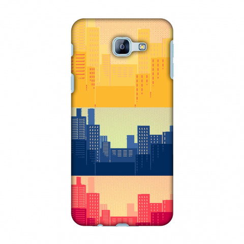 Colombia Flag - Cityscape Slim Hard Shell Case For Samsung Galaxy A8 2016