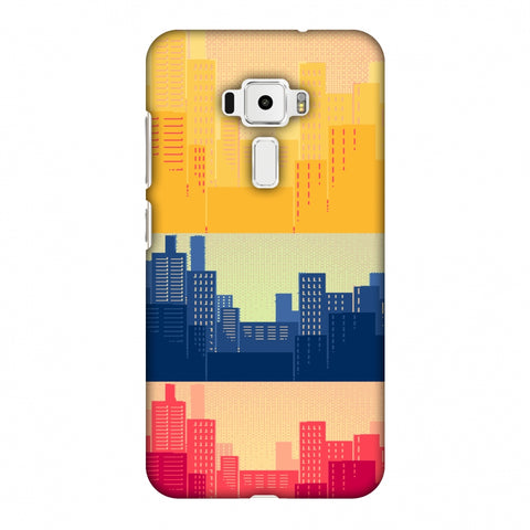 Colombia Flag - Cityscape Slim Hard Shell Case For Asus Zenfone 3 ZE520KL
