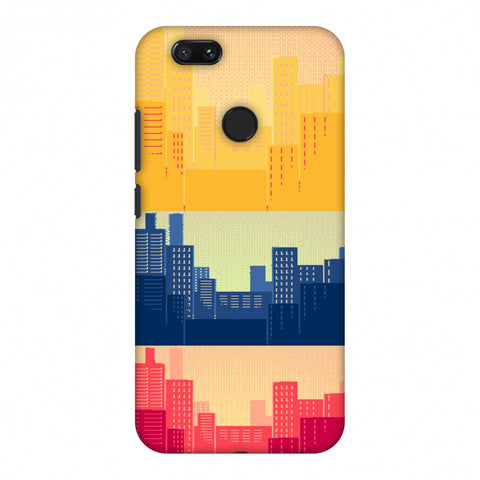 Colombia Flag - Cityscape Slim Hard Shell Case For Xiaomi MI A1-5X