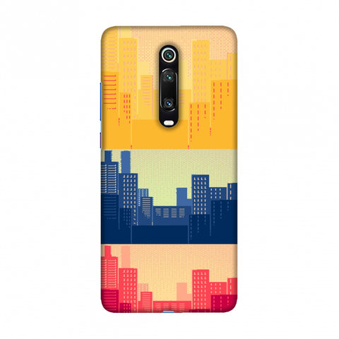 Colombia flag- Cityscape Slim Hard Shell Case For Redmi K20/K20 Pro