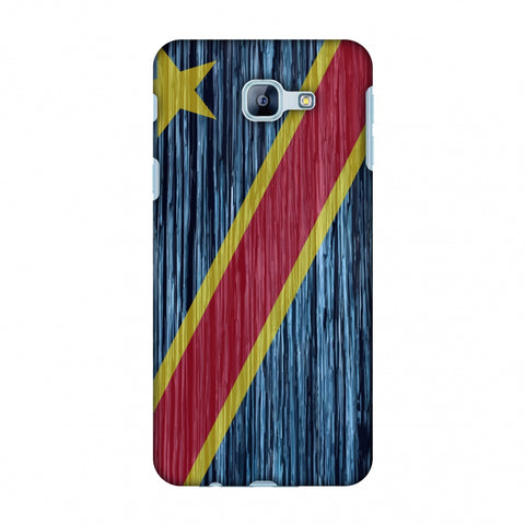 Dr Congo Flag - Textures Slim Hard Shell Case For Samsung Galaxy A8 2016