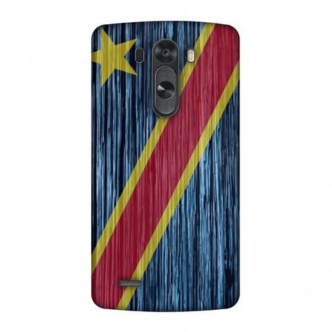 Dr Congo Flag - Textures Slim Hard Shell Case For LG G4