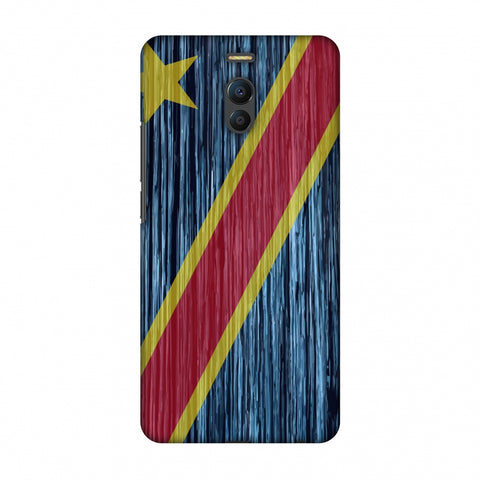Dr Congo Flag - Textures Slim Hard Shell Case For Meizu Note 6