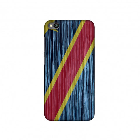 DR Congo flag- Textures Slim Hard Shell Case For Redmi Go