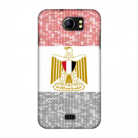 Egypt Flag - Shapes Slim Hard Shell Case For Micromax Canvas 2 A110
