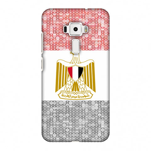 Egypt Flag - Shapes Slim Hard Shell Case For Asus Zenfone 3 ZE520KL