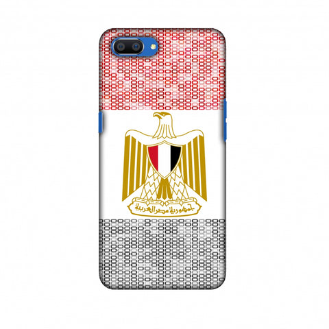 Egypt Flag - Shapes Slim Hard Shell Case For Oppo Realme C1