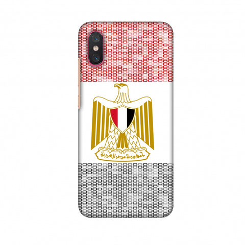 Egypt Flag - Shapes Slim Hard Shell Case For Xiaomi Mi 8 Pro