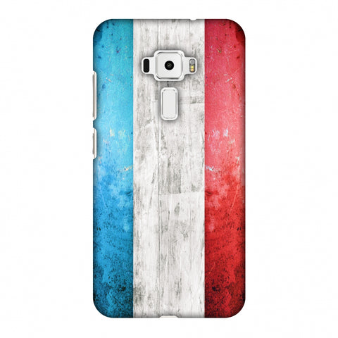 France Flag - Rugged Slim Hard Shell Case For Asus Zenfone 3 ZE520KL