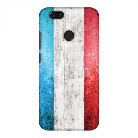 France Flag - Rugged Slim Hard Shell Case For Xiaomi MI A1-5X