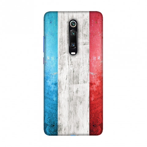 france flag- Rugged Slim Hard Shell Case For Redmi K20/K20 Pro