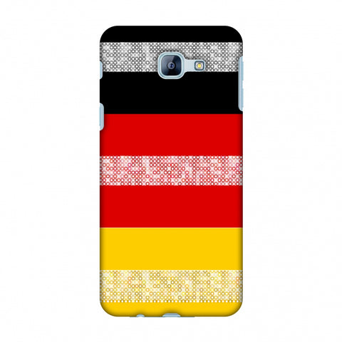Germany Flag - Shapes Slim Hard Shell Case For Samsung Galaxy A8 2016