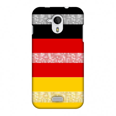 Germany Flag - Shapes Slim Hard Shell Case For Micromax Canvas HD A116