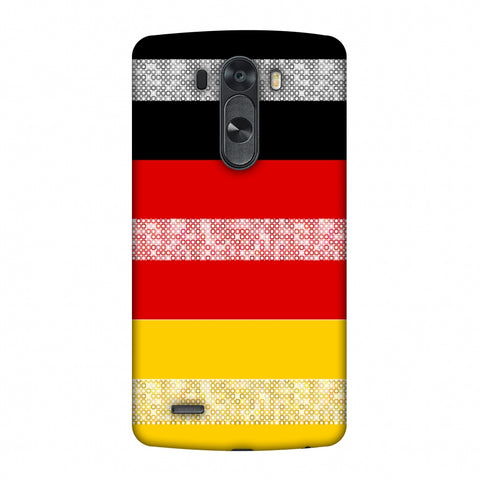 Germany Flag - Shapes Slim Hard Shell Case For LG G4