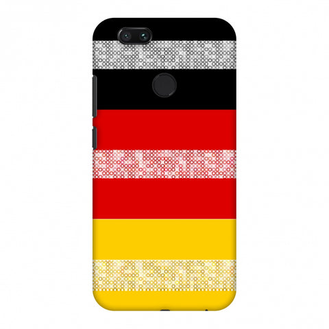 Germany Flag - Shapes Slim Hard Shell Case For Xiaomi MI A1-5X