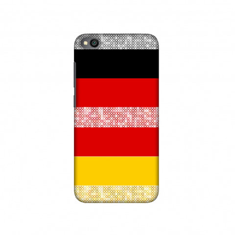 Germany flag- Shapes Slim Hard Shell Case For Redmi Go