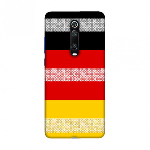 Germany flag- Shapes Slim Hard Shell Case For Redmi K20/K20 Pro