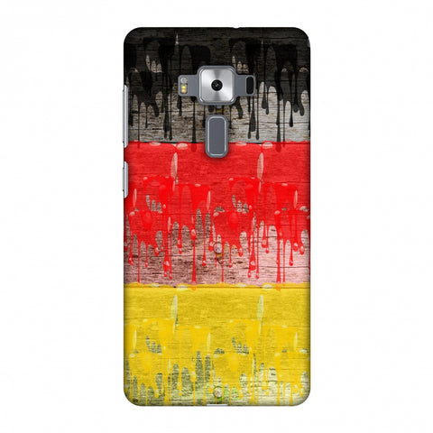 Germany Flag - Paints Slim Hard Shell Case For Asus Zenfone 3 Deluxe ZS570KL