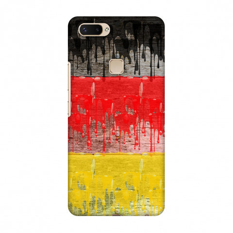 Germany Flag - Paints Slim Hard Shell Case For Vivo X20 Plus