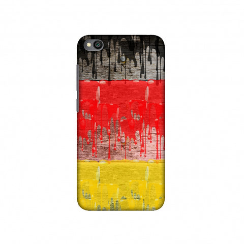 Germany flag- Paints Slim Hard Shell Case For Redmi Go