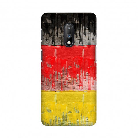 Germany flag- Paints Slim Hard Shell Case For OnePlus 7