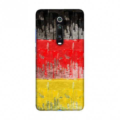 Germany flag- Paints Slim Hard Shell Case For Redmi K20/K20 Pro