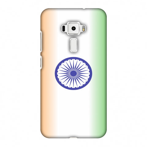 India Flag - Ombre Slim Hard Shell Case For Asus Zenfone 3 ZE520KL