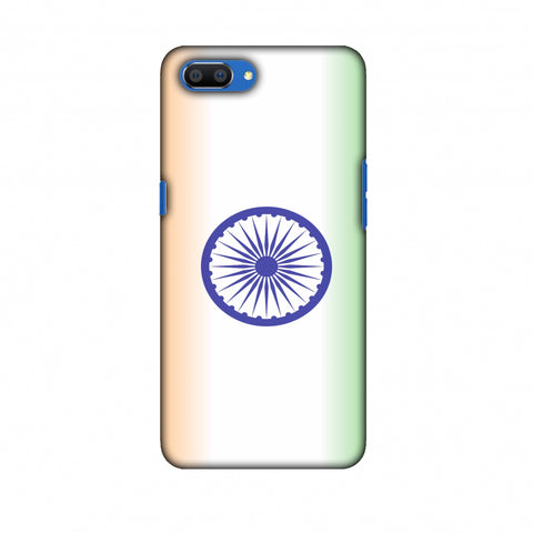 India Flag - Ombre Slim Hard Shell Case For Oppo Realme C1