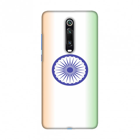 India flag- Ombre Slim Hard Shell Case For Redmi K20/K20 Pro