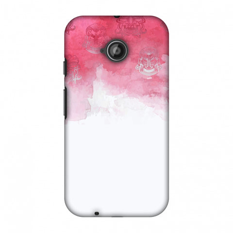 Indonesia Flag - Watercolour Slim Hard Shell Case For Motorola Moto E 2nd Gen