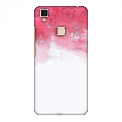 Indonesia Flag - Watercolour Slim Hard Shell Case For Vivo V3 Max