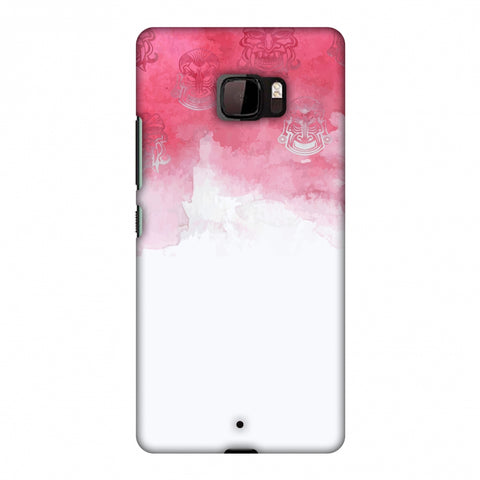 Indonesia Flag - Watercolour Slim Hard Shell Case For HTC U Ultra