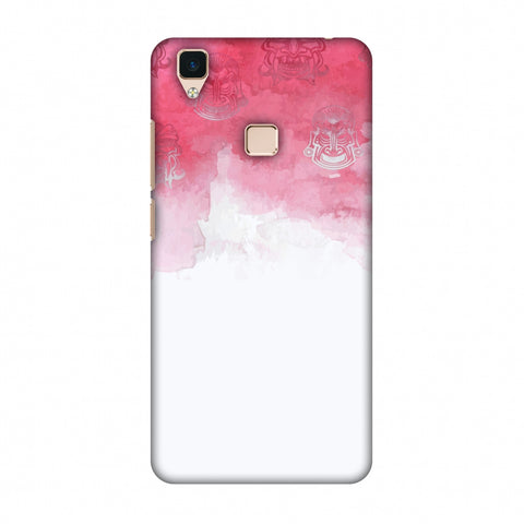 Indonesia Flag - Watercolour Slim Hard Shell Case For Vivo V3