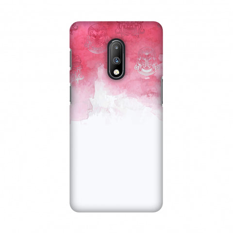 Indonesia flag- Watercolour Slim Hard Shell Case For OnePlus 7
