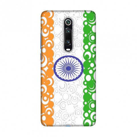 India Flag- Concentric circles Slim Hard Shell Case For Redmi K20/K20 Pro