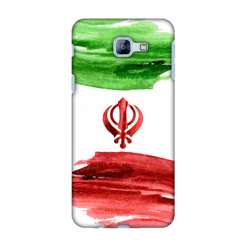 Iran Flag - Paint Strokes Slim Hard Shell Case For Samsung Galaxy A8 2016