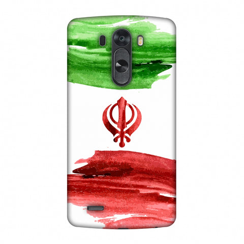 Iran Flag - Paint Strokes Slim Hard Shell Case For LG G4