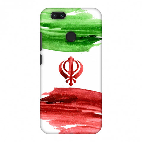 Iran Flag - Paint Strokes Slim Hard Shell Case For Xiaomi MI A1-5X