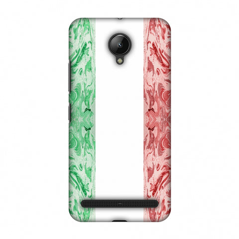 Italian Marble - Italy Flag Slim Hard Shell Case For Lenovo C2